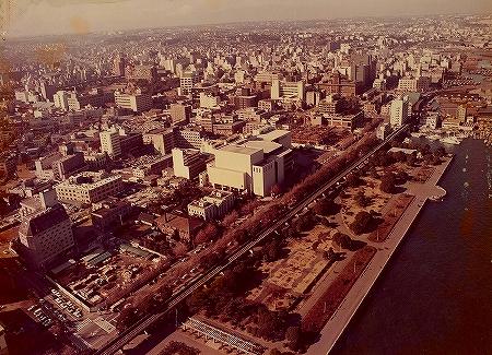 1975年 開館当時 航空写真
