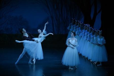 「スター・ガラ2015 ボストン・バレエの精鋭たちによる饗宴」より『ジゼル』第2幕