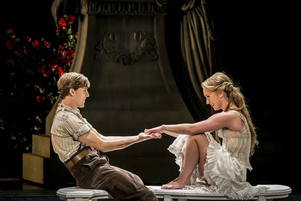 Matthew Bourne's SLEEPING BEAUTY. Dominic North (Leo) and Ashley Shaw (Aurora) 1. Photo by Johan Persson