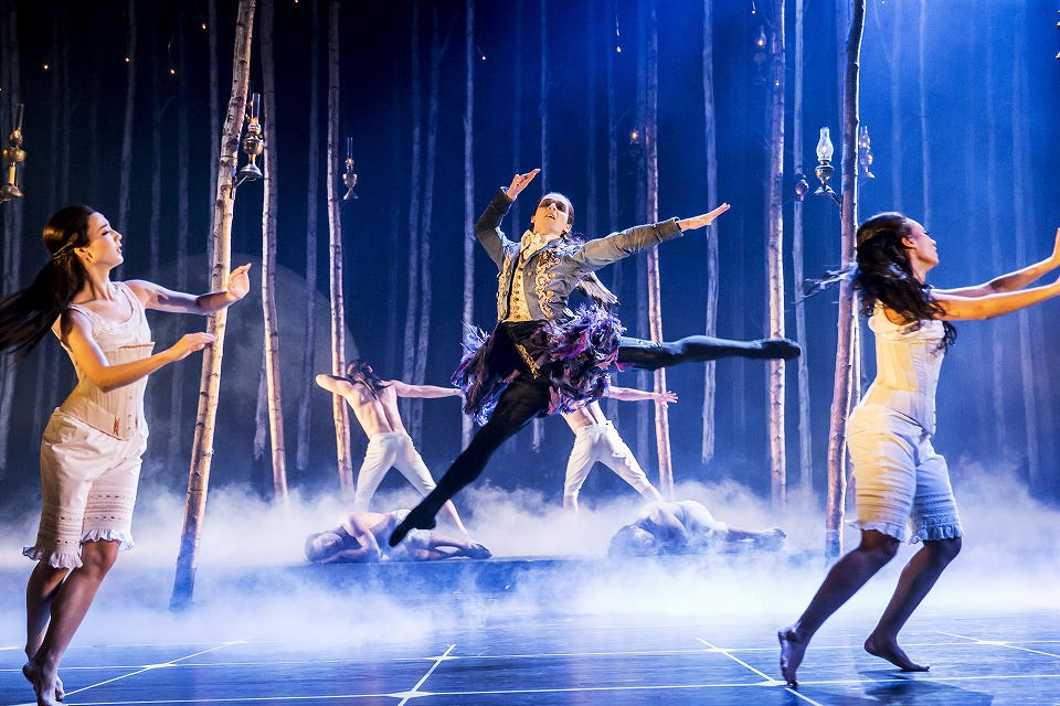 Matthew Bourne's SLEEPING BEAUTY. Liam Mower (Count Lilac) 2. Photo by Johan Persson